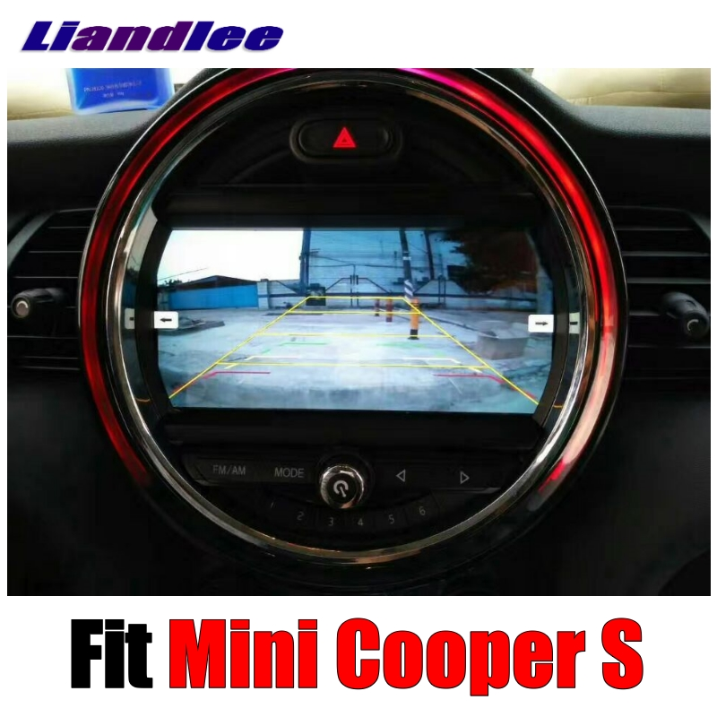Liandlee Car Multimedia Player For Mini Cooper S 2016~2018 Original Car style With iDrive Button Car Radio Stereo GPS Navigation