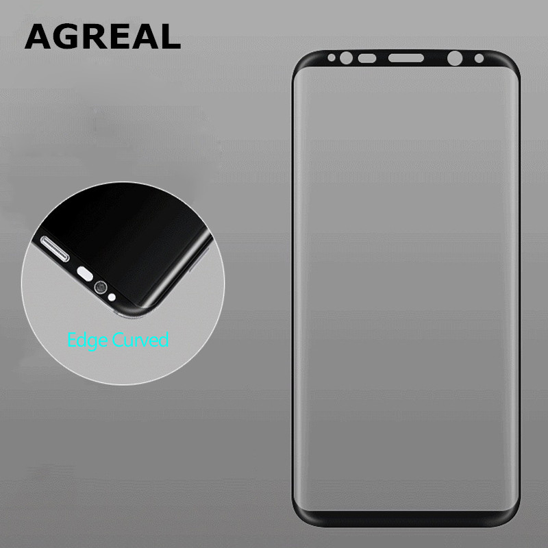 For Samsung Galaxy S8 Tempered Glass 3D Curved 0.2MM Full Cover Screen Protector Film For Samsung Galaxy S8 Plus G955 (S8 Edge) 3