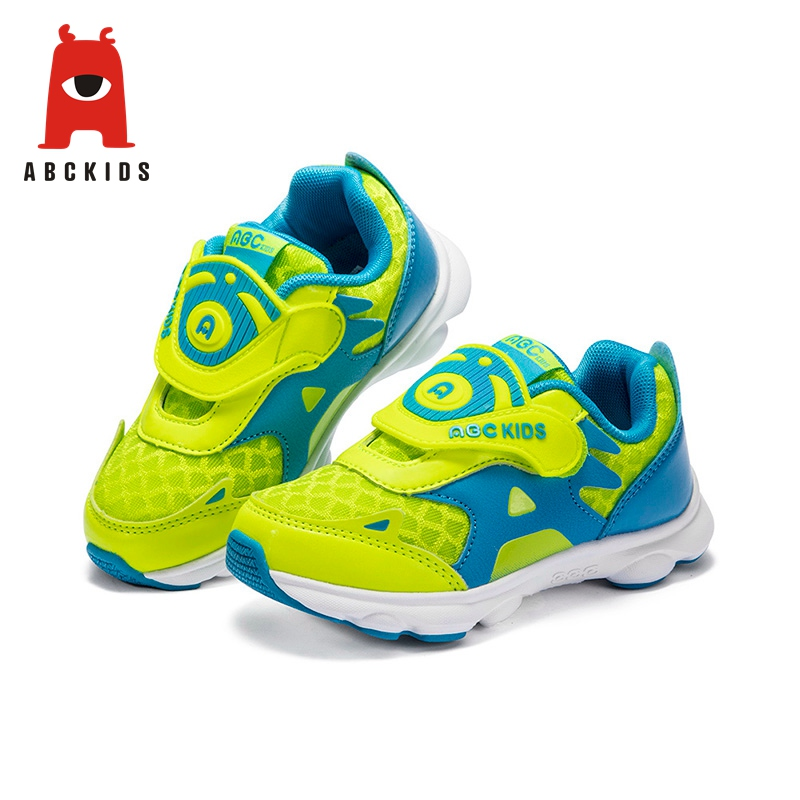 Abckids 3-6T Net Breathable Boy Girl Soft Sole Sports Sneakers Casual Children's Shoes Boys Girls Sneaker
