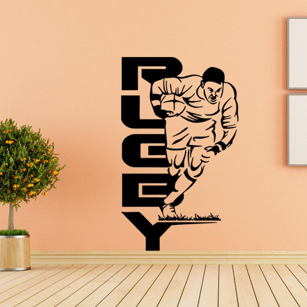Basketball Sports People Wall Stickers Kids Room Decorative Stickers ...