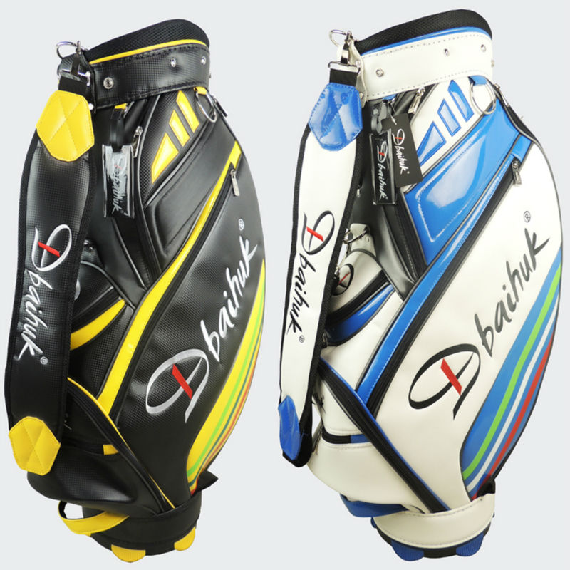 NEW Dbaihuk Golf bag, Professional ball bag,PU golf bag,High quality  Men's golf ball bag golf ball sample display case