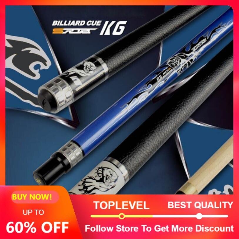 PREOAIDR 3142 K6 Pool Cue Stick Billiard Cue Stick 13mm 11 5mm 10mm Tip Black White