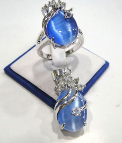 Hot sale new Style >>>> 3 Farben Charme GR n Blau opal / Pink ...