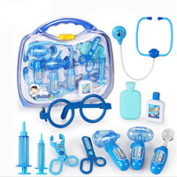 Classic Toys Doctor Toys Kit Christmas Gifts Nurse Roleplay Baby Favorite Toys Stethoscope Syringe Scalpel Medical
