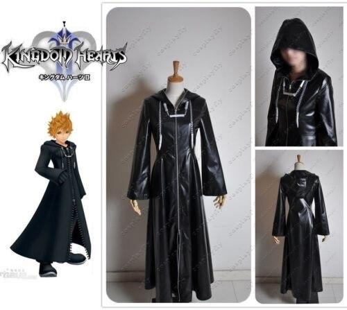 Fashion Style Kingdom Hearts Ii Organization Xiii Cloak Cosplay Costume Anime Party High Quality Windbreaker