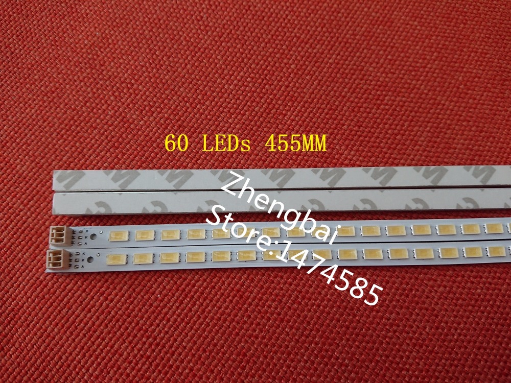 2 teile/los 40-DOWN LJ64-03029A LTA400HM13 led-streifen 40INCH-L1S-60 G1GE-400SM0-R6 60 LEDs 455 MM