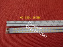 2 pieces/lot 40-DOWN LJ64-03029A LTA400HM13 LED strip 40INCH-L1S-60 G1GE-400SM0-R6 60 LEDs 455MM(China)