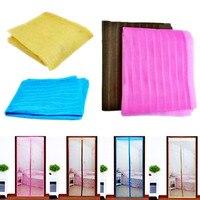 Mosquito Net For Door Window Magnetic Soft Sheer Screen Curtain Fly Mosquitera Magic Mesh Zanzariera Tela