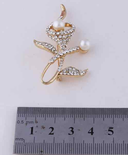 Personalità spilla fiore gioielli per le donne/uomini di modo gioielli pin spilla Sciarpa del metallo regalo di Nozze accessori Gioielli fai da te