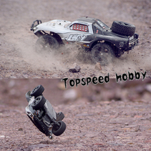 High speed 40km/hour 4wd 2.4GHZ rc car hobby remote control car short course racing truck,Off Road Truck VS little traxxas slash