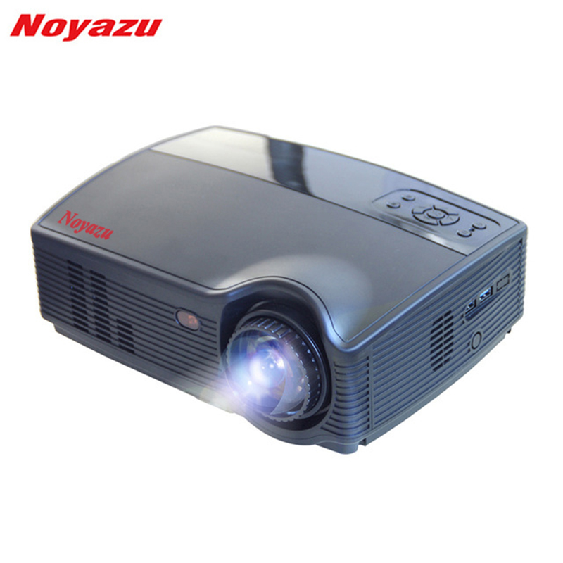 Noyazu Android 4 4 LED HD Projector 1280 800 LCD 3500 Lumens TV Full HD Video