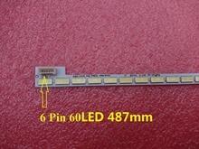 Barra de retroiluminación LED para TV, 60LED, 487mm, LG Innotek 39 pulgadas 7030PKG 60ea T390HVN01.0 73.39T03.003 0 JS1