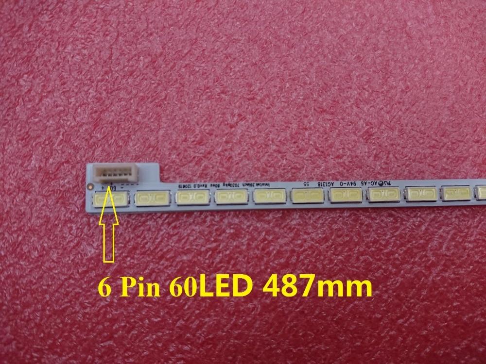 Nova 60LED 487mm DIODO EMISSOR de luz bar para TV LG Innotek 39 polegada 7030PKG 60ea T390HVN01.0 73.39T03.003-0-JS1