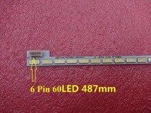 Nuovo 60LED 487 millimetri retroilluminazione A LED bar per la TV lg Innotek Ypnl 39 pollici 7030PKG 60ea T390HVN01.0 73.39T03.003 0 JS1