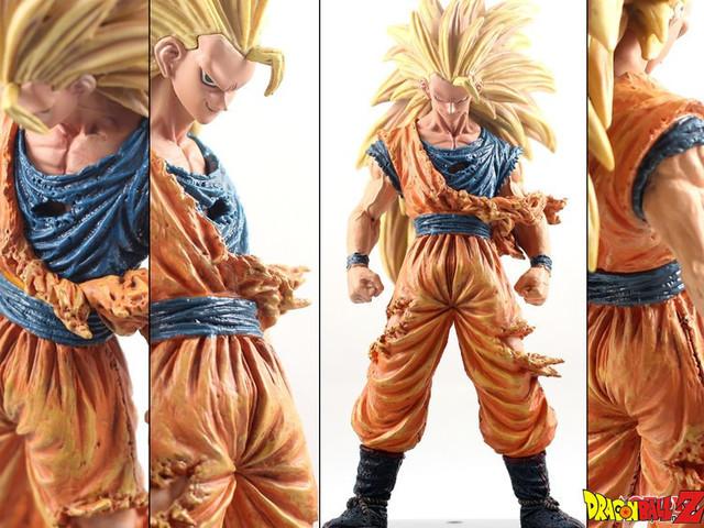 21 cm Anime Dragon Ball Z Super Saiyan 3