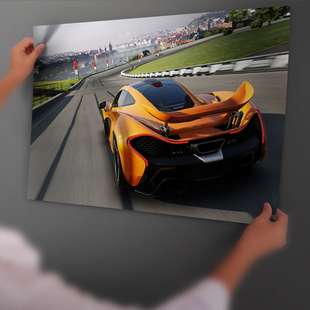 Forza Motorsport 6 Race Game Sports Car Art Poster And Print Back Glue Paper Painting Wi ...