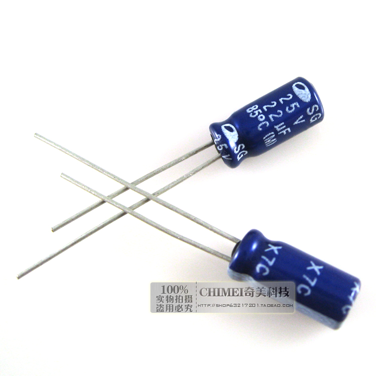 Electrolytic Capacitor 25V 22UF Capacitor