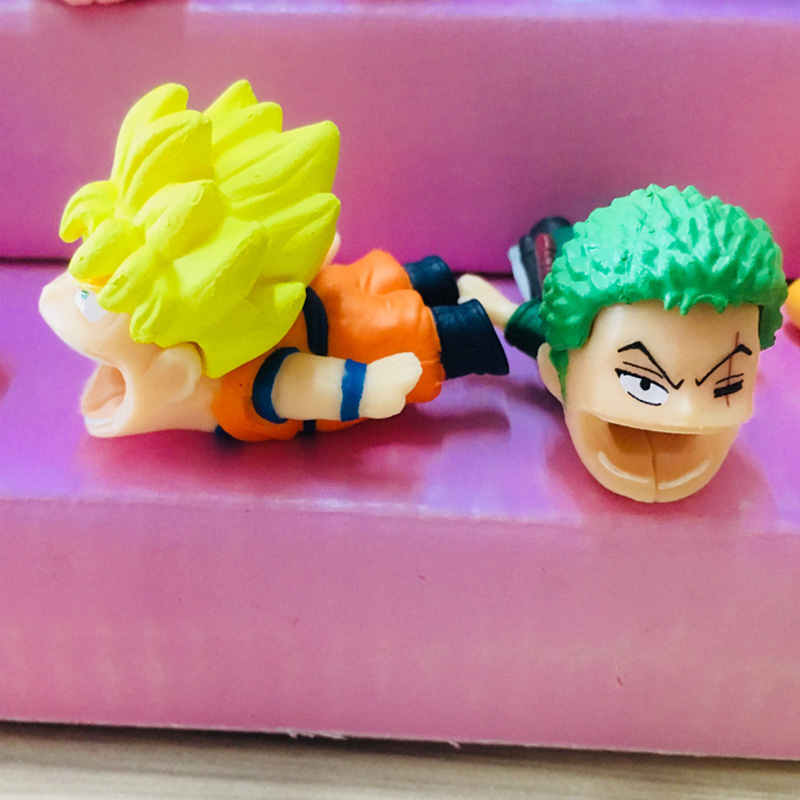 Dropshipping New Dragon Ball Z Super Cable Chompers Protector bite For Iphone Winder Phone Holder Accessory Organizer Animal dropshipping big cable chompers 1pcs phone bite accessory