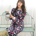 onesie The new winter pajamas pajamas Korean fashion female thickened flannel pajamas coral velvet suit Home Furnishing