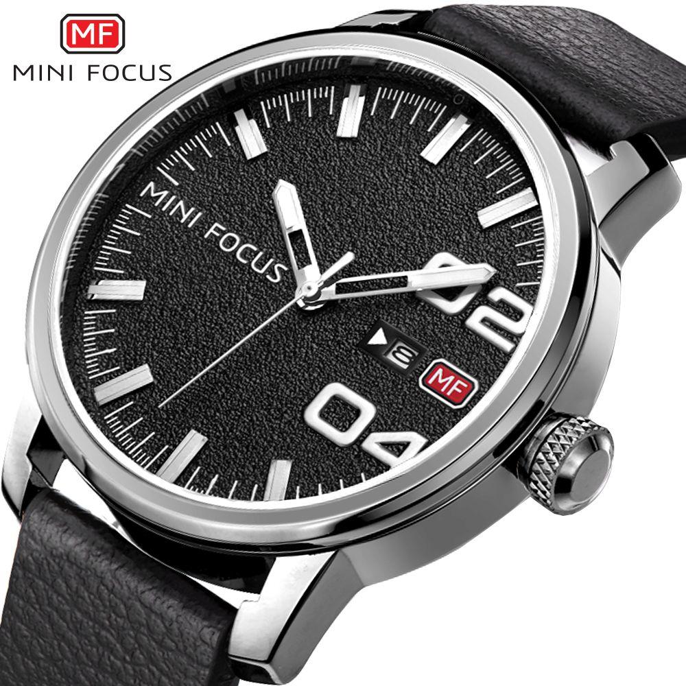 Nuevo 2018 Top Brand Men Relojes de pulsera Reloj de cuarzo MINI - Relojes para hombres