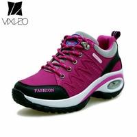 VIXLEO 2018 Women Shoes Trainers Fashion Outdoor Walking Tenis Feminino Sapato Casual Shoes Basket Femme Air