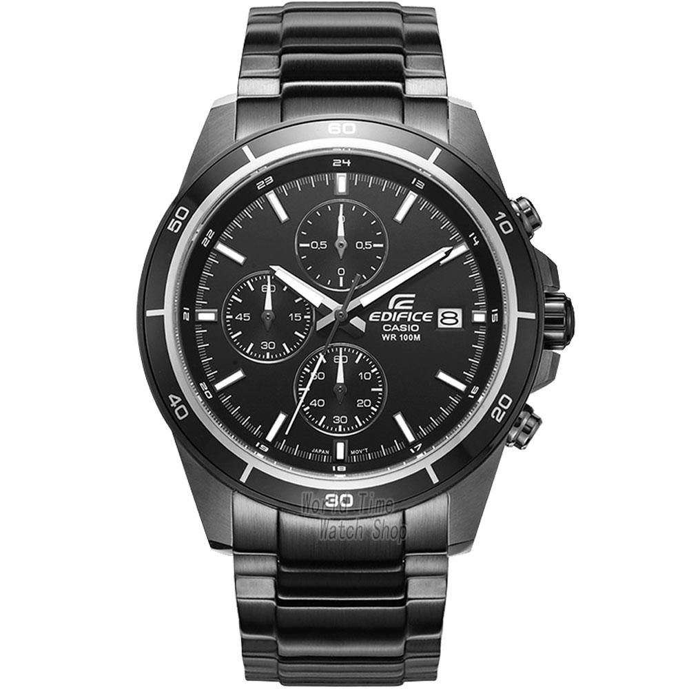 Casio Watch Quartz Time Waterproof Racing Men's Watch EFR-526BK-1A1 EFR-526BK-1A2 EFR-526BK-1A4 EFR-526BK-1A9