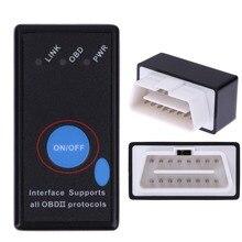 Универсальный OBD OBD2 V2.1 ELM327 Bluetooth Автомобиля Диагностический Сканер OBDII Тестер Диагностический Инструмент Автомобиля детектор Для Android Ос Windows