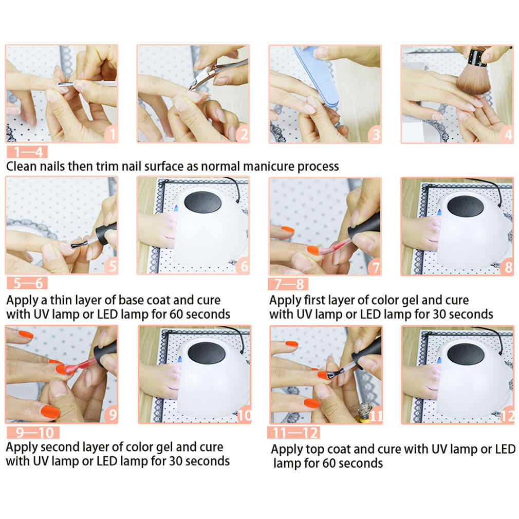 Inagla, 10 ML, esmalte en Gel mate de un solo paso, esmalte en Gel de LED UV para esmalte de uñas estampado, capa de Base superior, laca