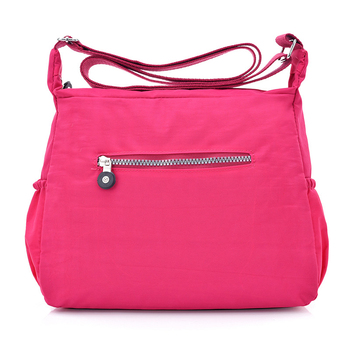 Women Nylon Shoulder Bags Female Solid Zipper Luxury Female Handag Designer Messenger Bags Summer Beach Crossbody Bag Sac A Main 3