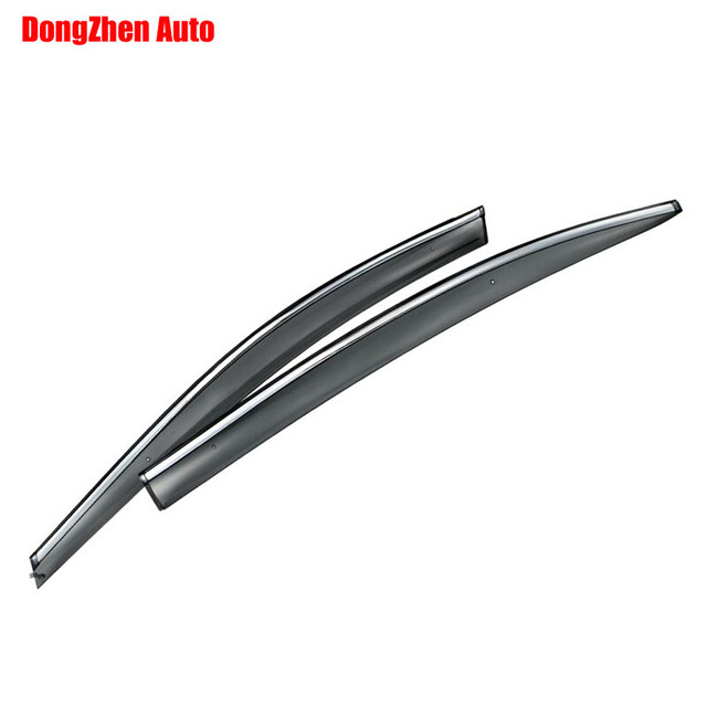 Auto rain shield window visor car window deflector sun visor covers stickers Fit For GEELY EC7 2012  PC 4pcs/set