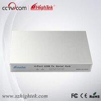 Hightek hk 5204a промышленных usb 4 Порты и разъёмы RS232 конвертер