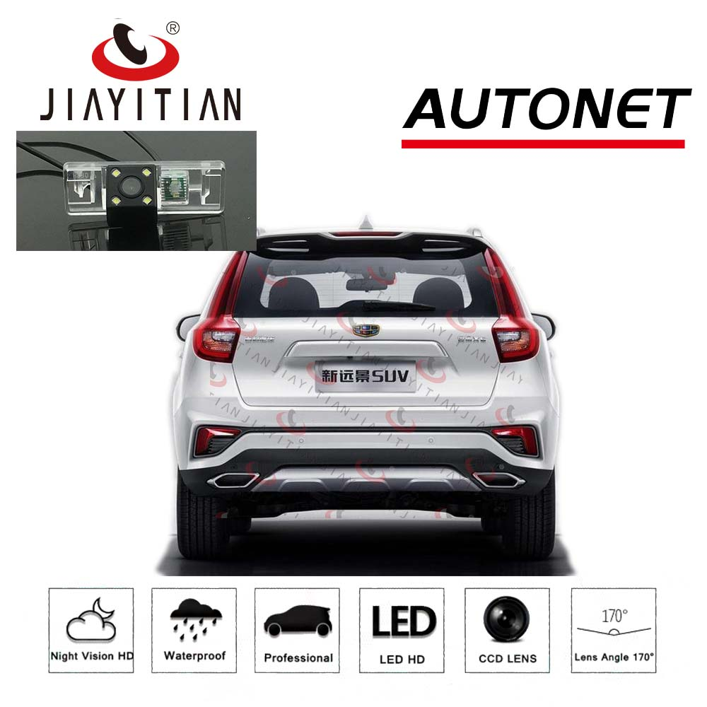 JIAYITIAN Rear View Camera for <font><b>geely</b></font> vision x6 /<font><b>Geely</b></font> <font><b>Emgrand</b></font> <font><b>X7</b></font> 2016~2020 <font><b>2019</b></font> ccd Backup Camera/Night Vision/Reverse camera image