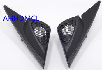 Samochodów wysokotonowy głośnik pudełka gumowe drzwi kątowe dla Mazda 6 2005 2006 2007 2008 2009 2010 2011 2012 2013 tanie i dobre opinie Skrzynek głośnikowych ABS+PC+Metal AHHDMCL Black 0 3kg Car audio door angle gum tweeter refitting