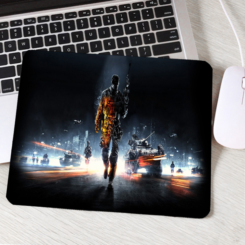 Congsipad The Beautiful HD Art War Game Wallpaper Printed Mousepad  Battlefield Series 1/2/3/4 Hot Gaming Mouse Pads To Decorate