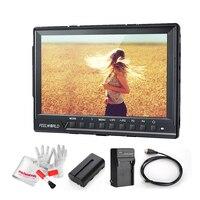 FEELWORLD FW760 7 дюймов IPS Full HD 1920x1200 поддержка 4 К на поле камера монитор с 2200mA батареи комплект контрастности 1200:1 450cd/m2
