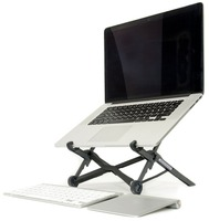 Laptop Stand Portable & Adjustable For Apple MacBook and PC Eye Level Ergonomic for Productivity, Lightweight folding for travel