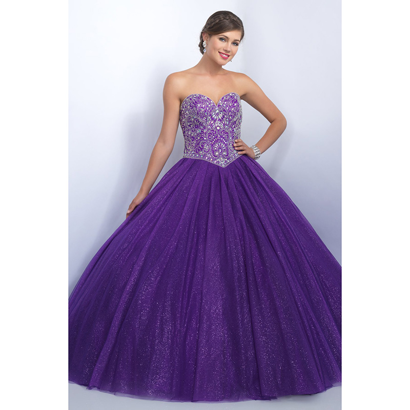 Aliexpress.com : Buy Gorgeous Purple Quinceanera Dresses Sweet 16 ...