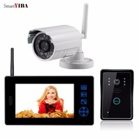 Yobang Security 7 2.4G Wireless Video Intercom Door Phone Auto Photo Videophone CCTV Camera Surveillance Security System