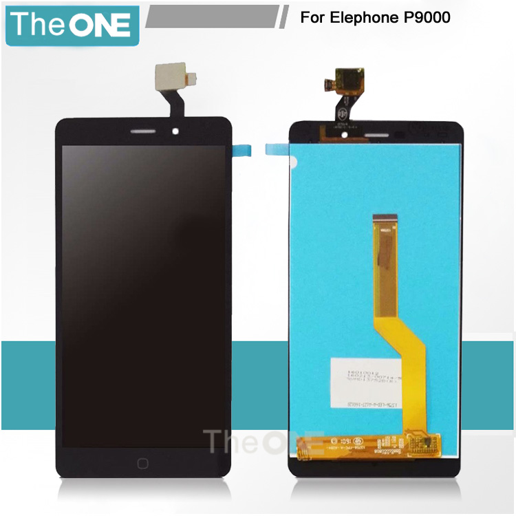 Free DHL 100% High Quality LCD Screen for Elephone P9000 LCD Display + Touch Screen Digitizer Assembly Replacement Spare Parts  цены