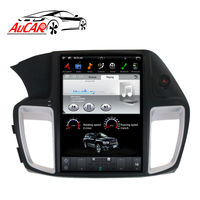 Aucar Tesla Style 2 din car radio gps navigation for Honda Accord 2013 2017 2 din Android radio auto multimidia cassette player