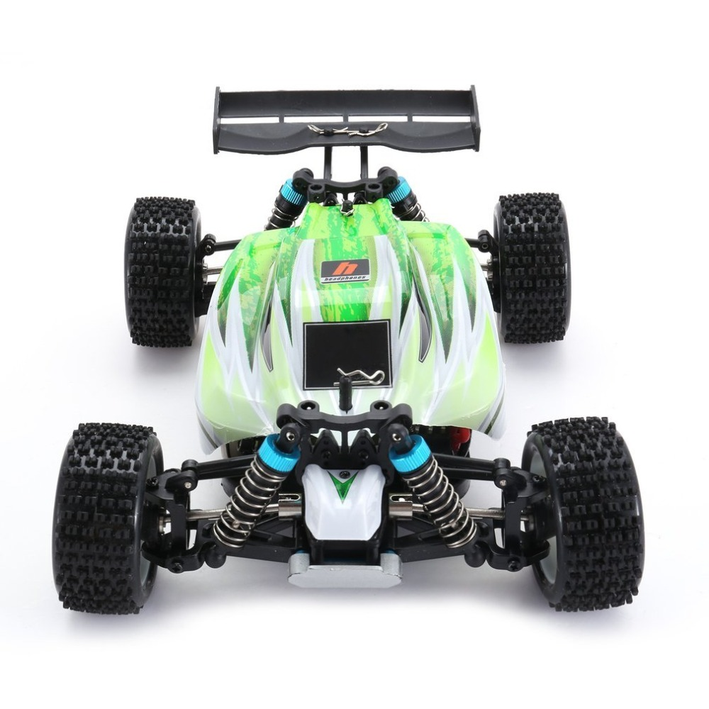 RC Racing Car Vehicle High Speed Electric 1/18 Scale 4CH Off-road Buggy Remote Control Cars 540 Brushed Green RTRRC Racing Car Vehicle High Speed Electric 1/18 Scale 4CH Off-road Buggy Remote Control Cars 540 Brushed Green RTR
