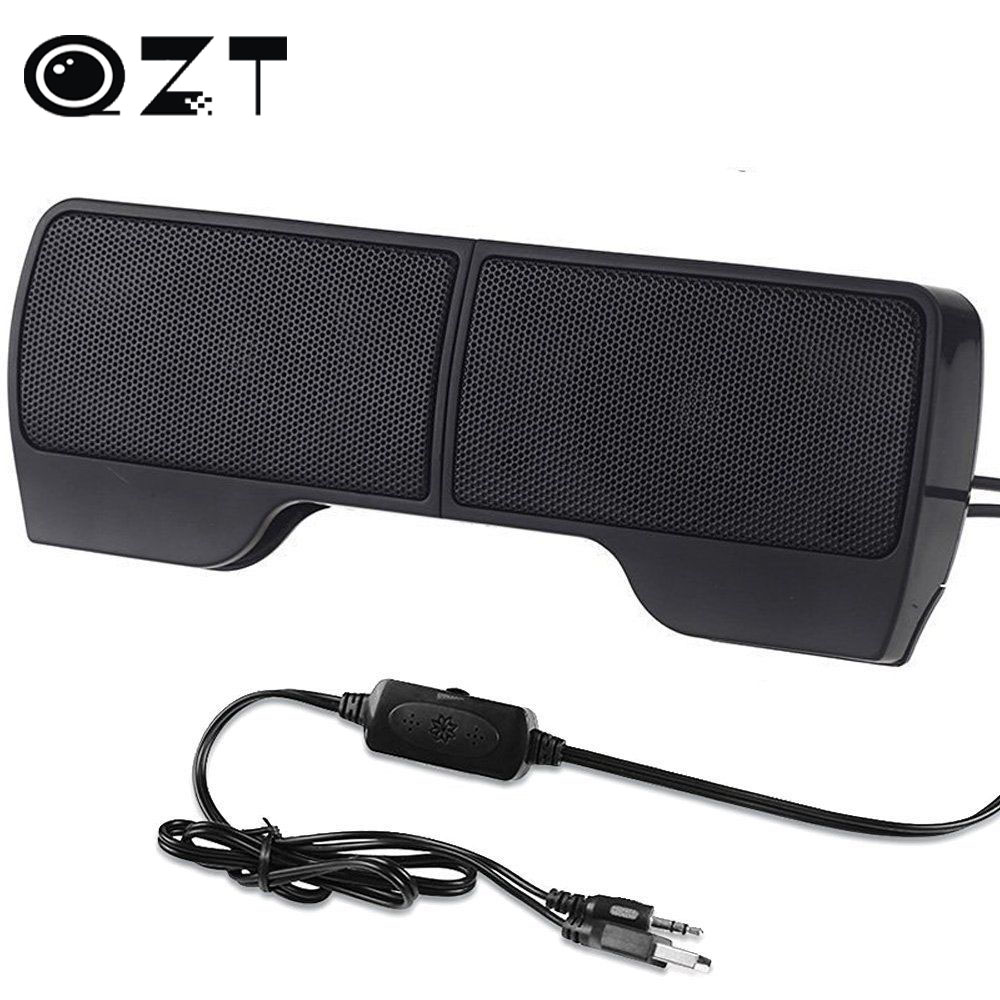 1 pair high quality mini portable clipon line driver usb stereo speaker sound bar for notebook. Black Bedroom Furniture Sets. Home Design Ideas