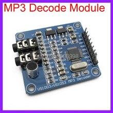 5 шт./лот VS1003B MP3 Декодирования Модуль Load Микрофон STM32 Совет по Развитию MCU Аксессуары