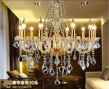 Glass crystal chandeliers home lighting crystal lustres decoration chandelier luxury candelabra pendants living room indoor lamp