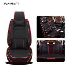 Flax Car Sear Covers For Skoda Octavia A5 Kodiaq Superb Fabia 3 Karoq Yeti Rapid Accessories Seat Protector