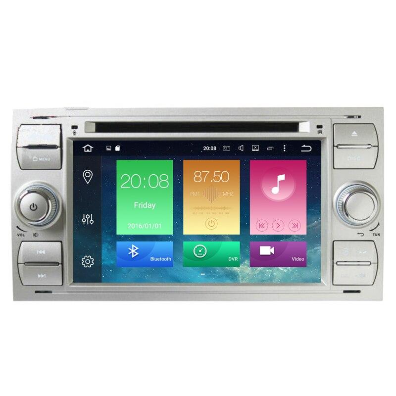 Android 6.0 Octa ядер 2 ГБ Оперативная память dvd-плеер автомобиля для Ford/Mondeo/фокус/Transit/c -MAX 2 DIN 7 дюймов 32 г Встроенная память 3G/4 г Wi-Fi GPS Радио
