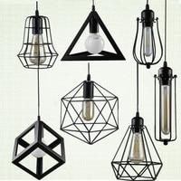 RH LOFT Vintage Chandeliers Lamp LED Light Multiform Metal Pendant Lampshade Warehouse Style Lighting Light Fixture
