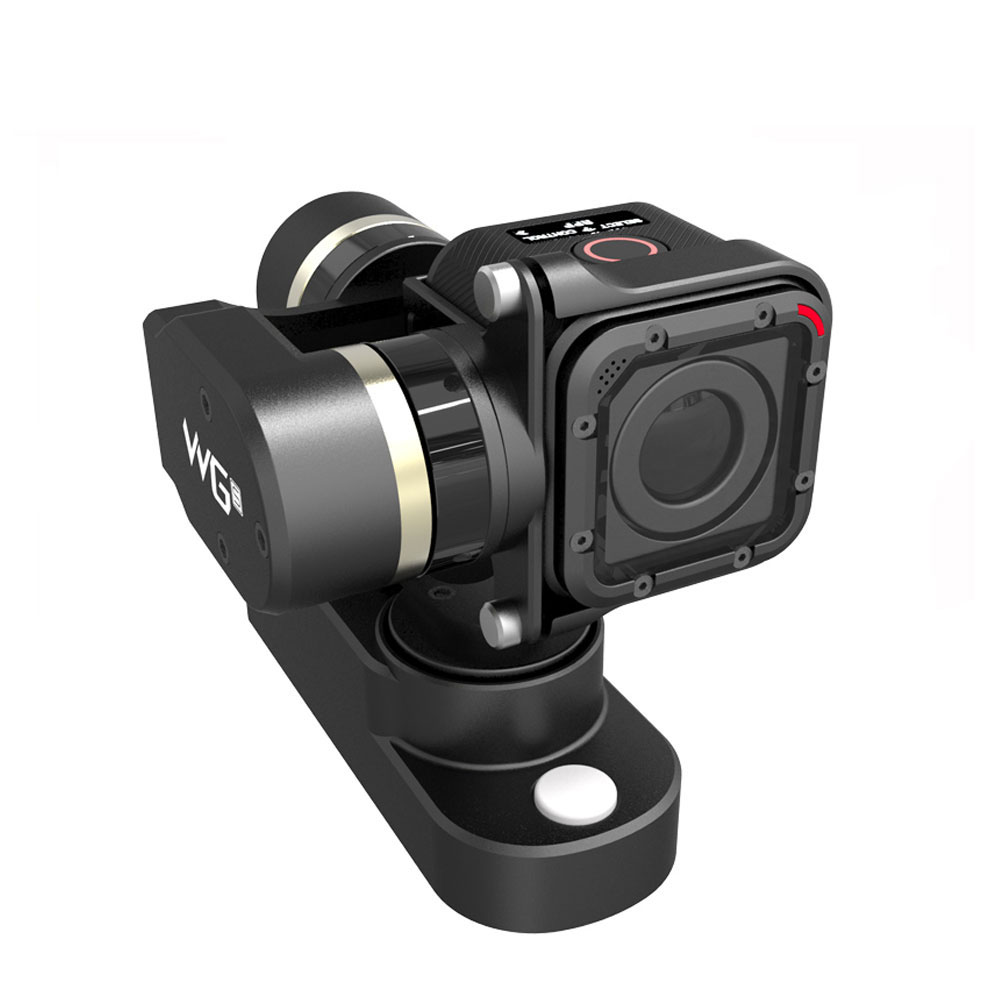 Feiyu Tech FY WGS FY-WGS 3-Axis Wearable Portable Self-powered Energy-Efficient Gimbal for GoPro 4 Session Camera as WG Rider-m feiyu tech fy wg lite single axis