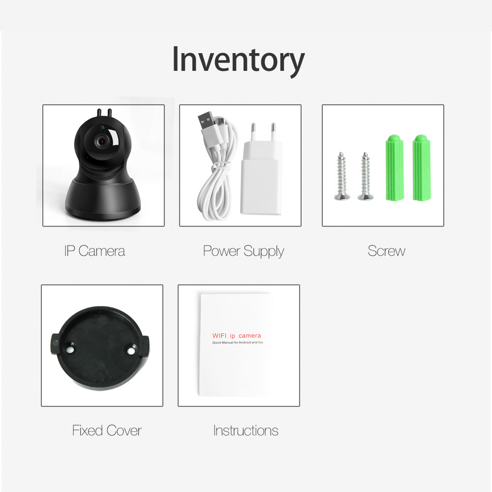 Buy 720p Wireless Ip Wifi Camera Security Diagram Ptz Ir Night Vision Audio Recording Surveillance Network Baby Monitor Icsee From