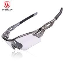 WHEEL UP Photochromic Cycling Bike Glasses Polarized Sports Sunglasses